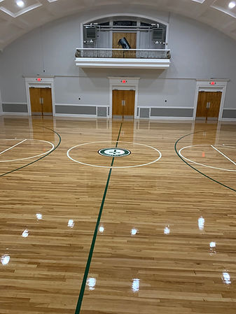 gymnasium refinishing