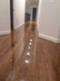 oak hallway