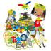 Eテレアニメ「キャラとおたまじゃくし島」。HYが歌うテーマ曲の「OH!AIWO」の実写+アニメのダンス映像登場!