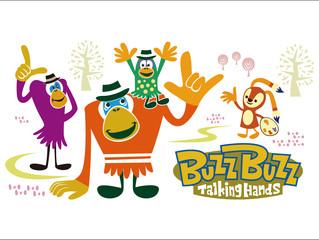 「バズバズ」という名のキャラクターのTシャツシリーズを発売中です。