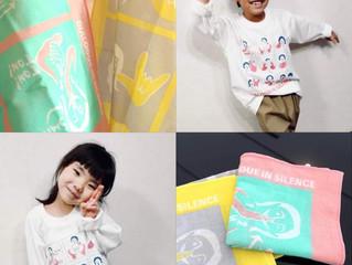 ダイアログ・イン・サイレンスから手話Tシャツ(長袖)とハンカチが発売です。