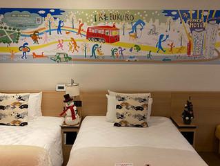 「IKEBUS」の運行1周年を記念したプリンスホテル「イケブクロ エンジョイルーム」の室内装飾を担当しました。