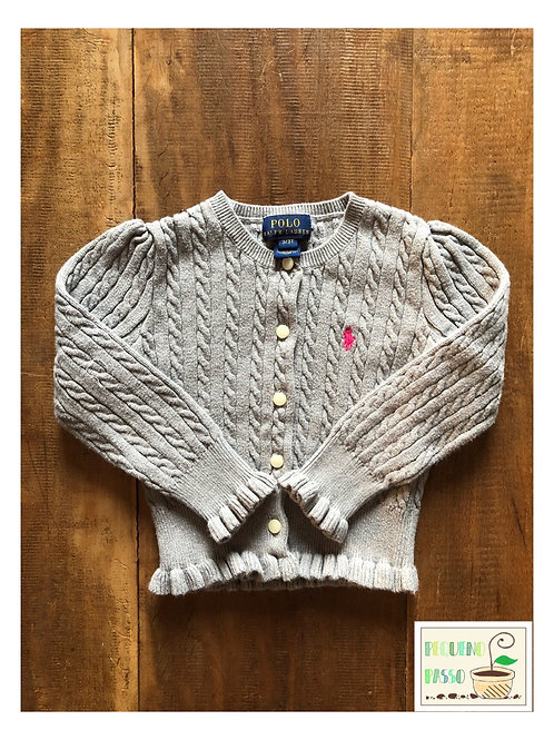 Malha tricot trançada - Ralph Lauren