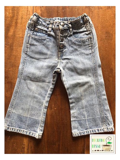 Calça jeans flare - Gap