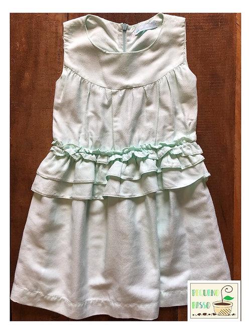 Vestido verde água - Minou Minou