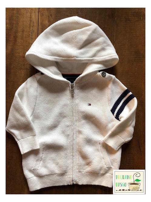 Malha tricot com capuz - Marca Tommy Hilfiger