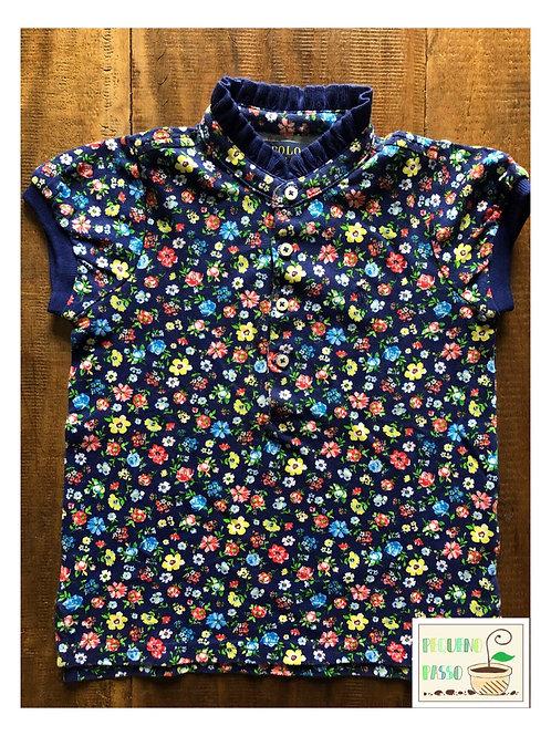 Polo floral babados - Ralph Lauren