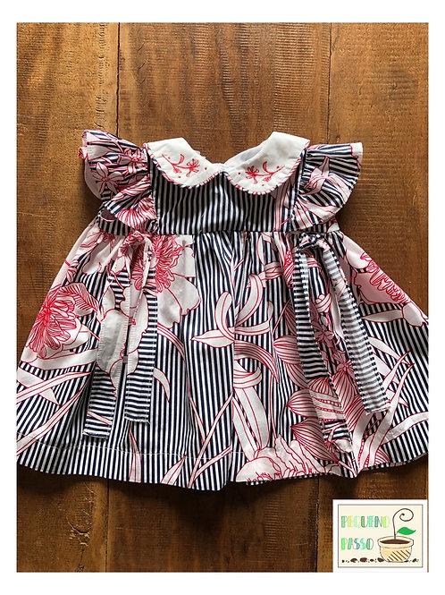 Vestido estampado - Primo Bambino