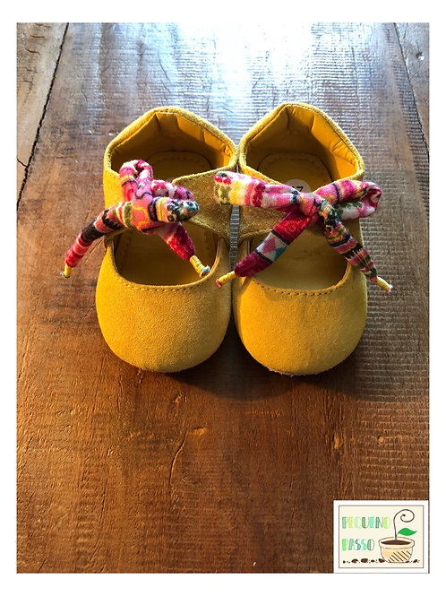 Sapato amarelo