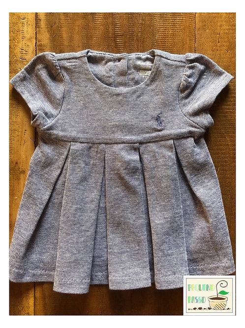 Vestido plissado - Ralph Lauren