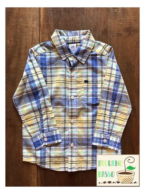 Camisa xadrez - Marca Carter's