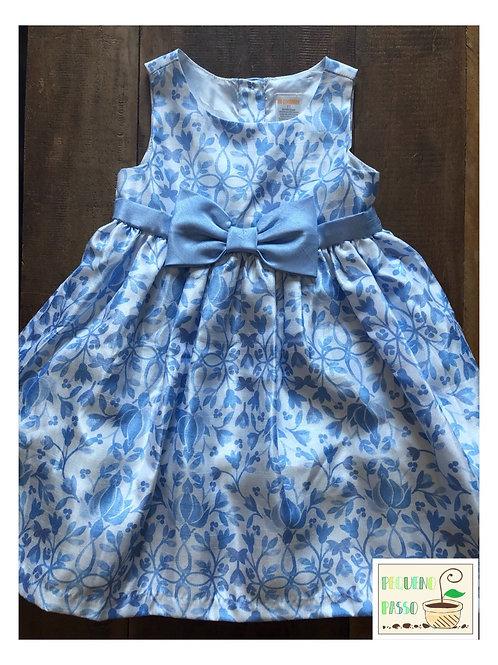 Vestido tafetá floral - Gymboree
