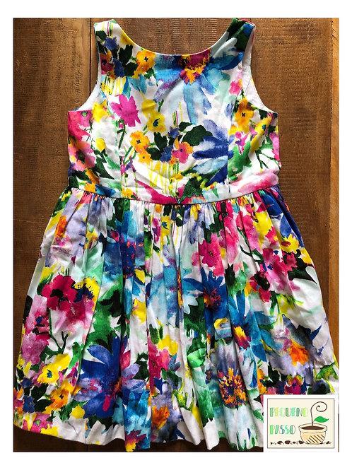 Vestido floral - Ralph Lauren