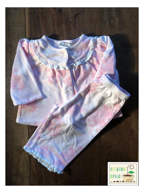 Pijama rosa floral - Hartstrings