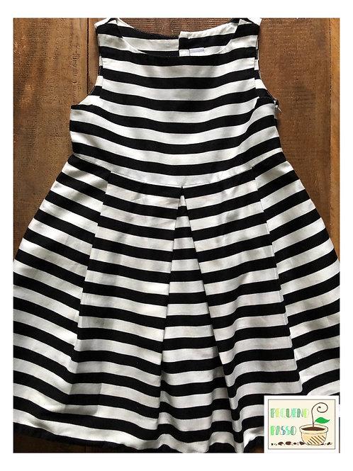 Vestido listrado - Zara