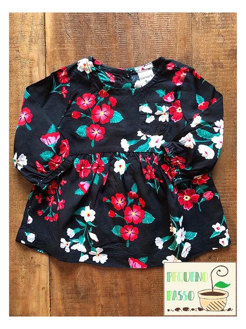 Vestido / Bata Floral - Marca Carter's