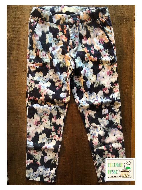 Calça Floral - Zara