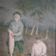 Tenon kalastajia