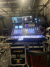 Zoomed out view of broadcast mix
