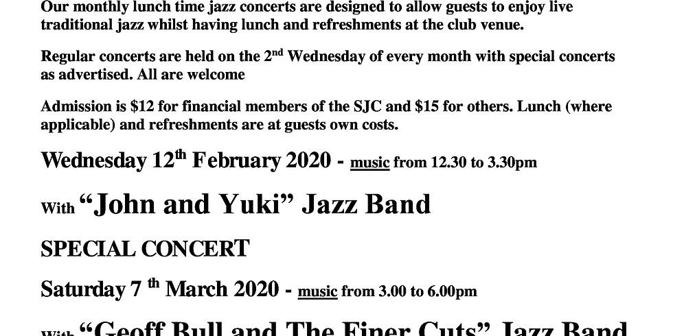 THE SYDNEY JAZZ CLUB LUNCHTIME JAZZ SERIES PRESENTS -
