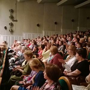 концерт симфонической музыки оркестра Санкт - Перербургской хоровой капеллы