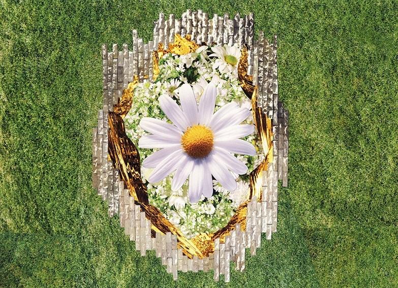 2010 - Daisy in Bricks.jpg