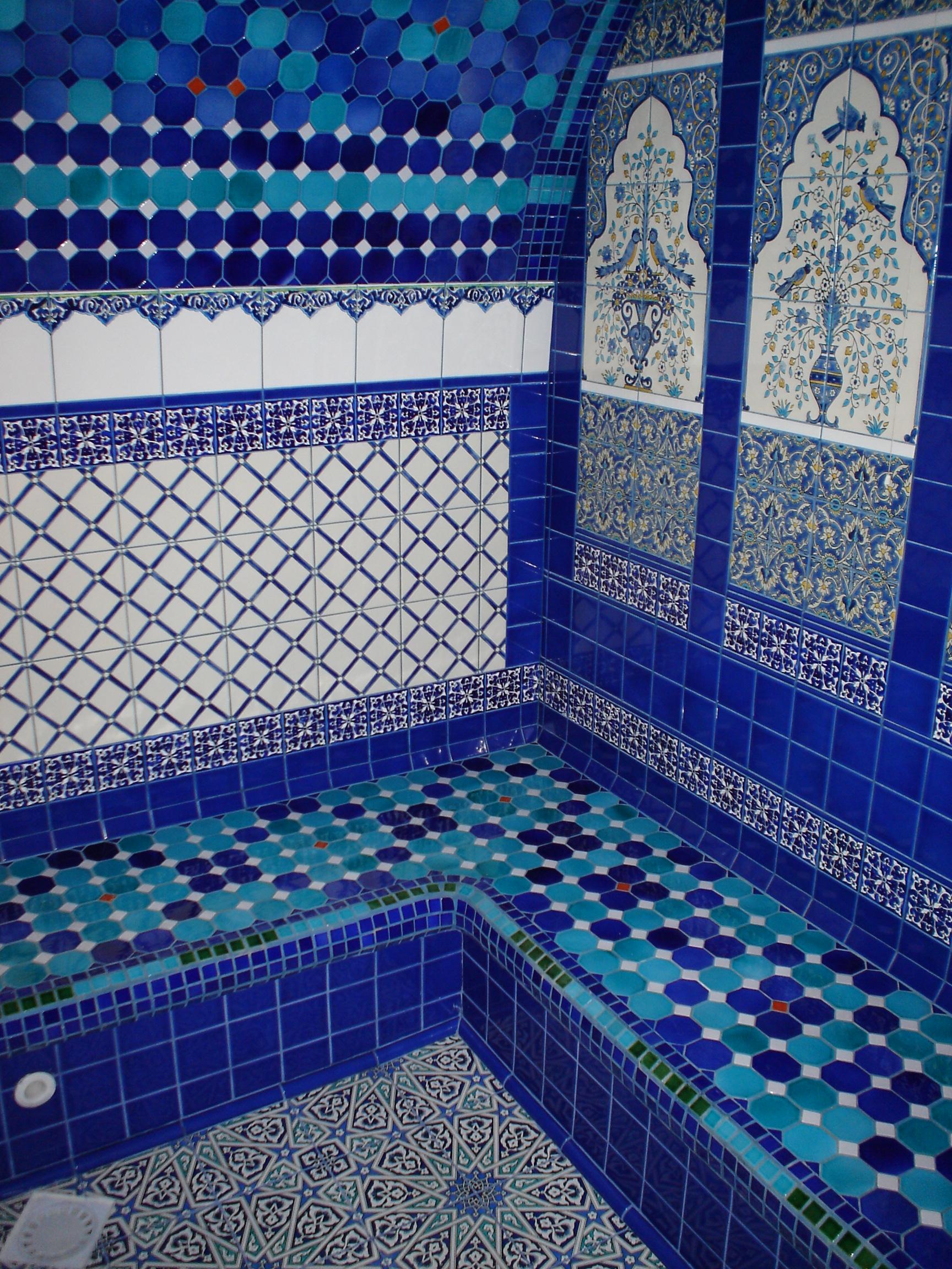 турецкий стиль в бане