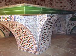 отделка массажного стола в бане