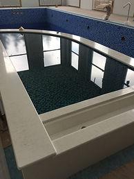 бассейн с купелью