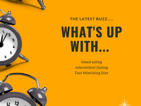 The latest buzz - FASTING!