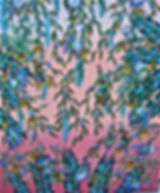 # 85 Tropical Feathers 16x19 $ 1,000.00