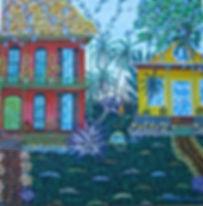 # 82 Corner Of The Hemmingway House 24x2