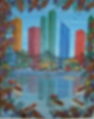 Miami Skyline 16x20 for wix high shelf a