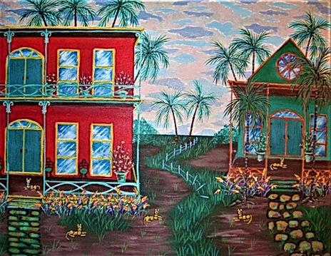 # 80 Main Street Key West 16x20 $ 1,000.