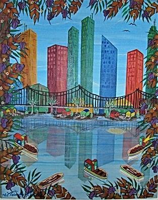 # 13 Miami Skyline 16x20 $ 800.00 (2).jp