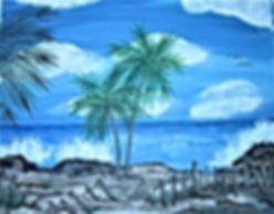 # 72 Key West Ocean 11x14 2015 $ 500.00