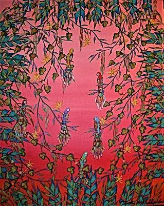 # 78 Tropical Neverland 16x20 $ 800.00 (