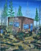 santa fe shop 16x20 # 75A 40.6 x 50.8 cm
