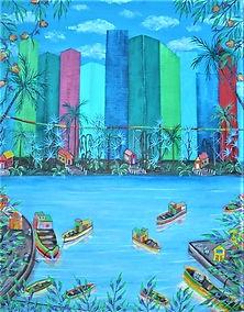 + # 32 Miami Skyline IIII,  55.8 x 71.1