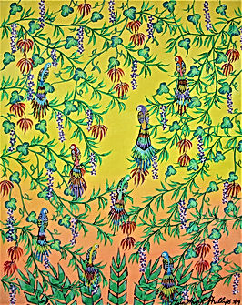 # 84 Yellow ILLusion 40.6 x 50.8 cm 16x2