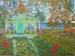 # 11 Key West Lighthouse 18x24 $ 1,000.0