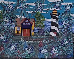 key west  lighthouse 11x14.jpg