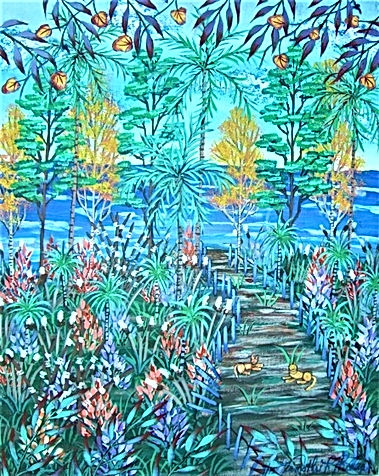 # 48 Path To The Keys 16x20 $ 800.00 (2)