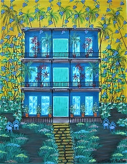 # 81 The Comforts Of Home 22x28 $1,500.0
