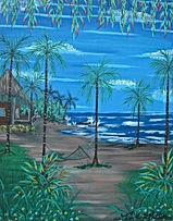 # 60 Keys North Shore Beach 16x20 2018 $