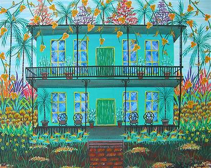 # 97 my green dream 16 x 20 $ 1,000.00.J