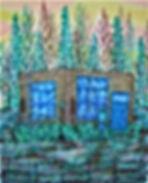 santa fe dream 16x20 40.6 x 50.8 cm # 73