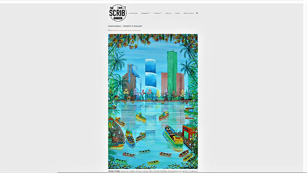 The Scrib Arts Journal Featured Miami Do