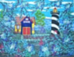 # 50 Light House 11x14 2017 $ 500.00 (2)