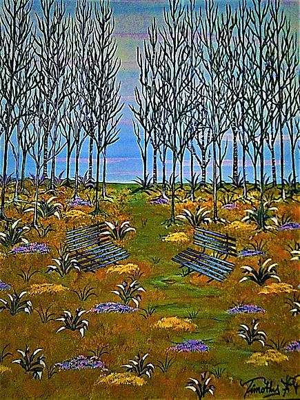 artpal  Birch Tree Path 22x28  2000.00 (